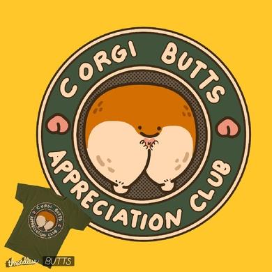 Corgi Butts Appreciation Club