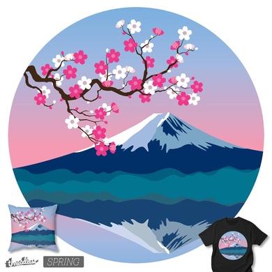 Spring at Mt. Fuji