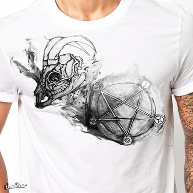 Goat Skull Pentagram