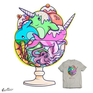 Ocean ice-cream