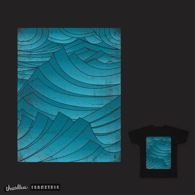Isometric Waves bold version