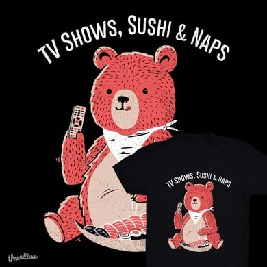 TV Shows, Sushi & Naps