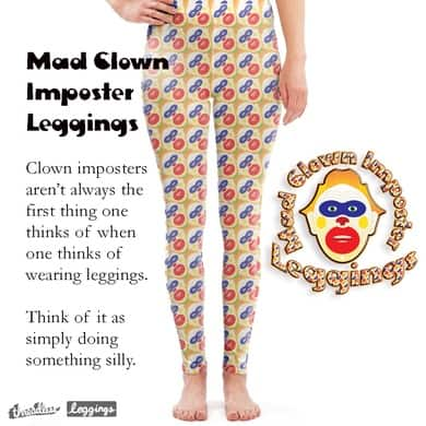 Mad Clown Imposter Pattern