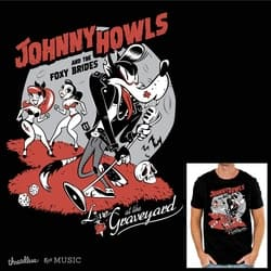Johnny Howls and the Foxy Brides