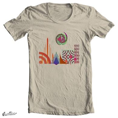 Trippy Cityscape