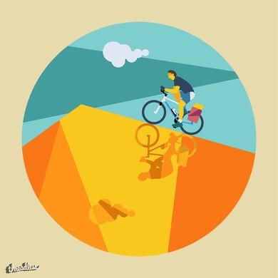 Ciclista TRAVEL