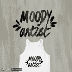 Moody Artist