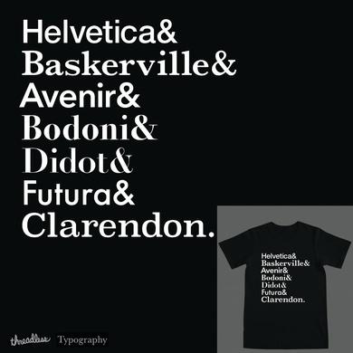 Typography List Shirt