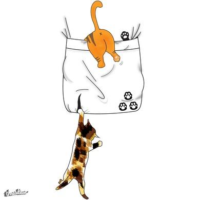Scratch That Pocket, Kitties!