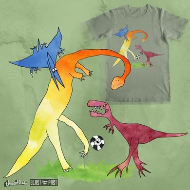 """heyK´s football-dinosaurs featuring """" UPCOMING SERIOUS FOUL-PLAY"""