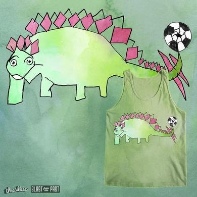"""heyK´s football-dinosaurs featuring """" EVERGREEN-STEGOSAURUS """""""