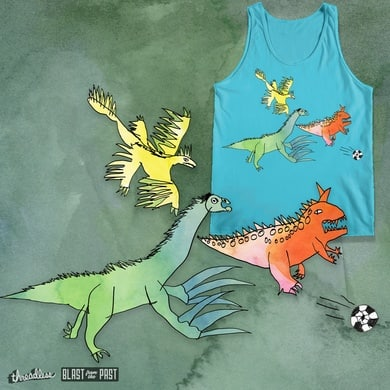 """heyK´s football-dinosaurs featuring """" PACK FORMING """""""