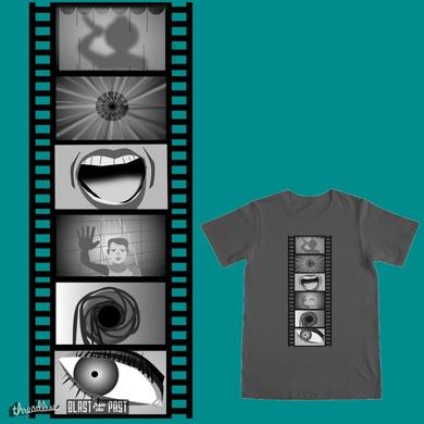 Psycho Film Strip