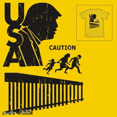 Caution - Border Crossing