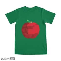 Low Poly Geometric Apple