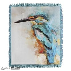 Watercolour kingfisher