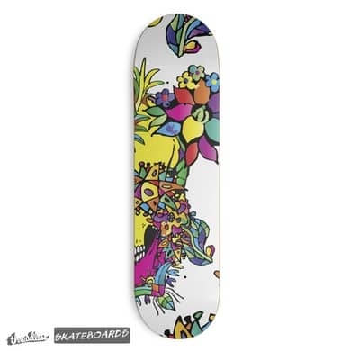 Perfect design for a skateboard deck by Victoria Deregus_27