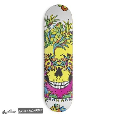 Perfect design for a skateboard deck by Victoria Deregus_28