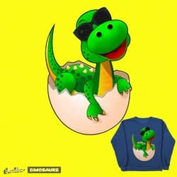 Adorable Baby T-Rex