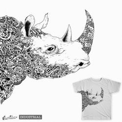 co-exist #rhino