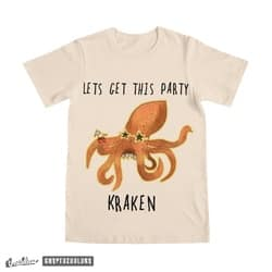 Lets get this party kraken