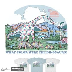 What Color Were the Dinosaurs?