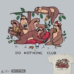 Do Nothing Club (Color)