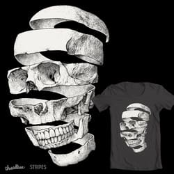Peeled skull