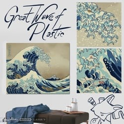 The Great Wave of Plastic