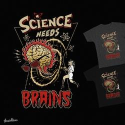 Science Needs Brains