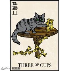 Nine - er - Three of Cups