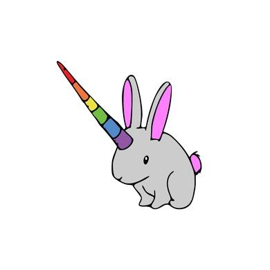 Bunny Rabbit Unicorn