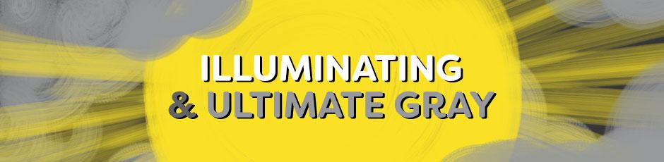 Illuminating / Ultimate Gray