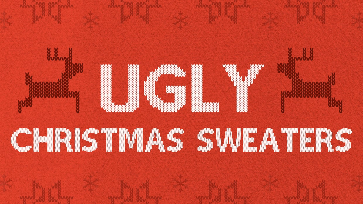 Ugly Christmas Sweaters. Design an ugly holiday sweater! | Threadless