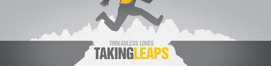 Threadless Loves Taking Leaps