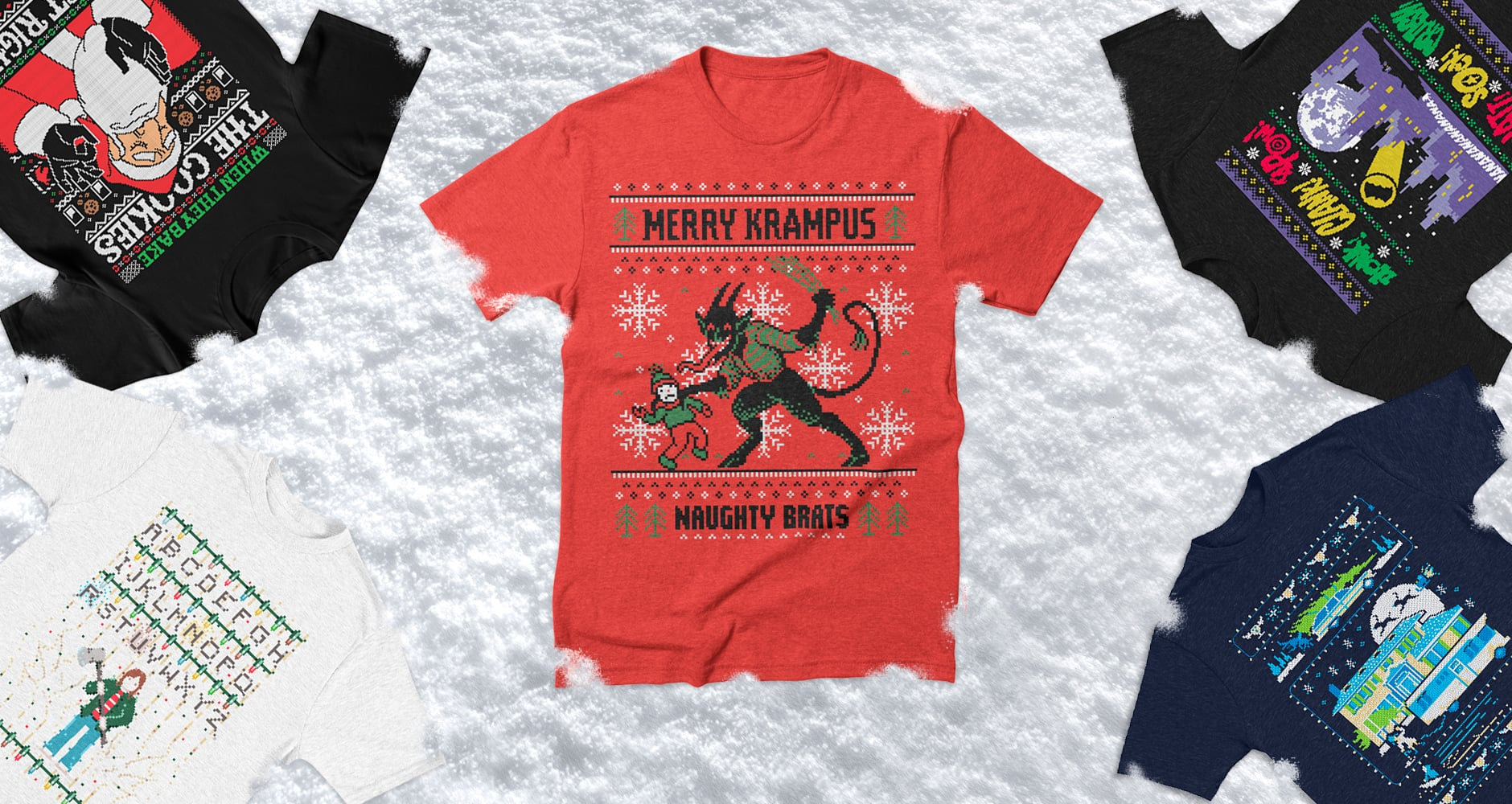 Ugly Holiday Sweaters T-Shirts | Threadless