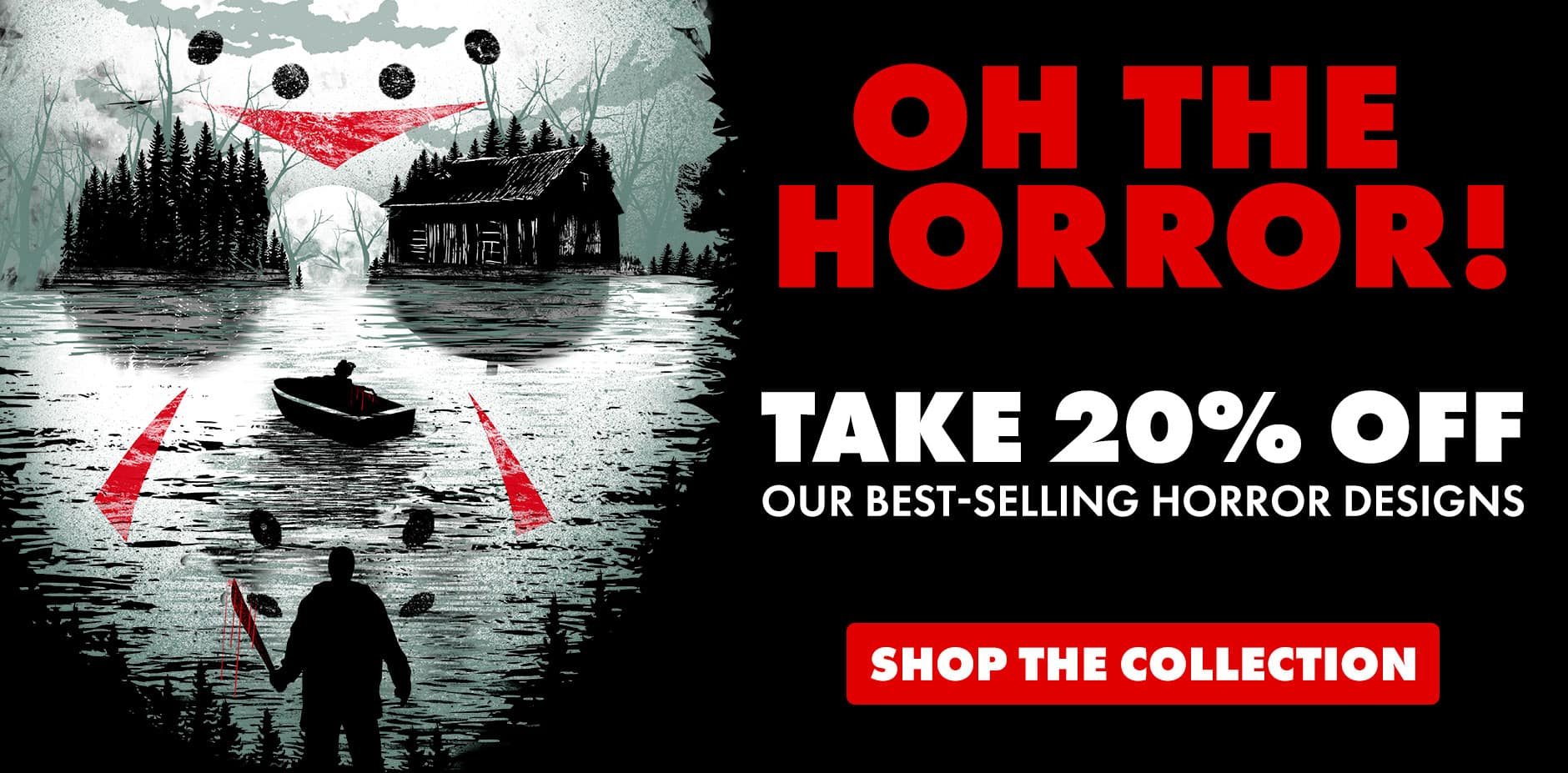 Shop the Horror Collection on Threadless