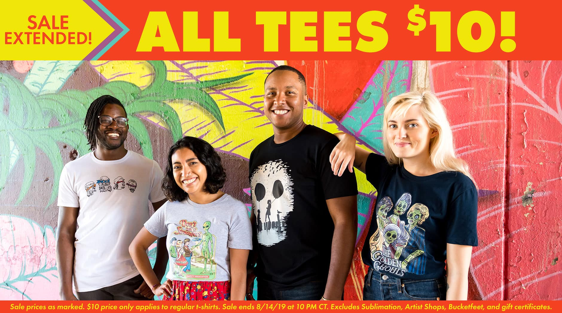 Shop Graphic Designed T-Shirts & Apparel Online | Threadless
