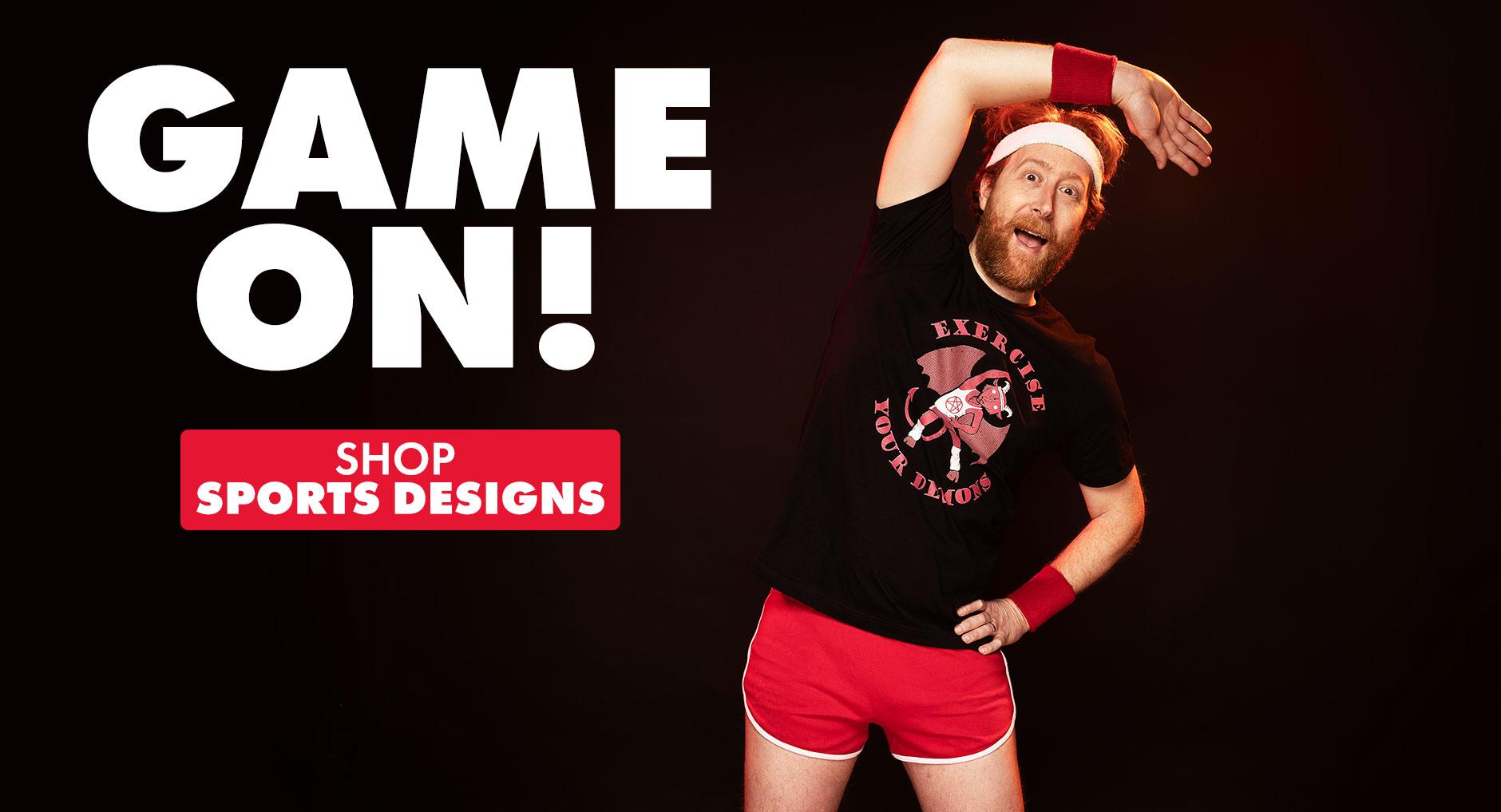 Shop Sports designs on Threadless