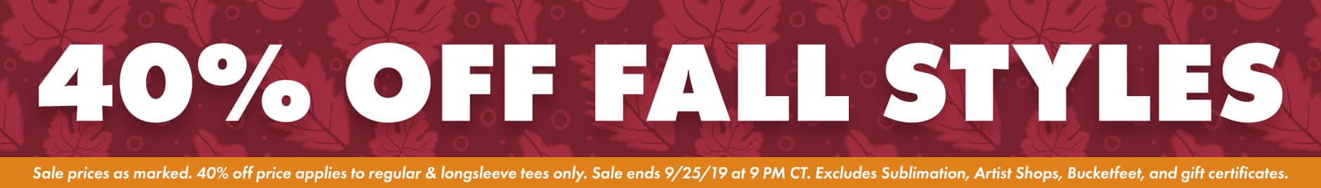 Shop the Threadless Fall Sale!