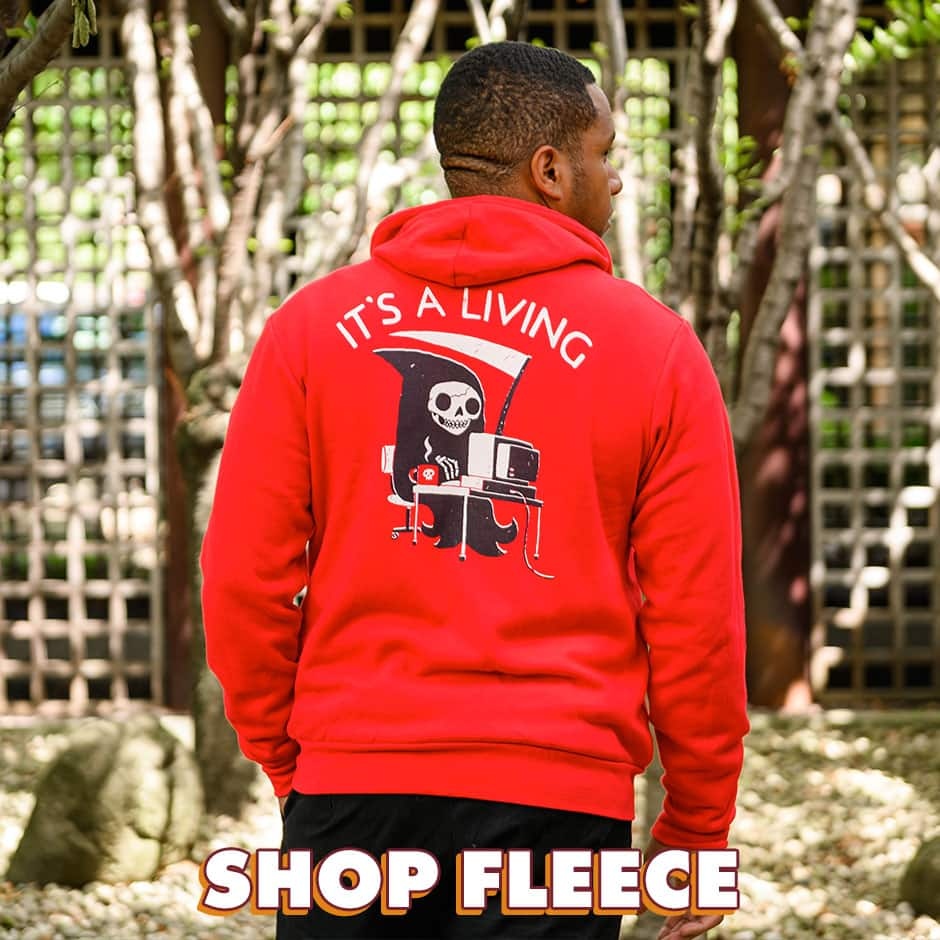 Shop Fleece on Threadless