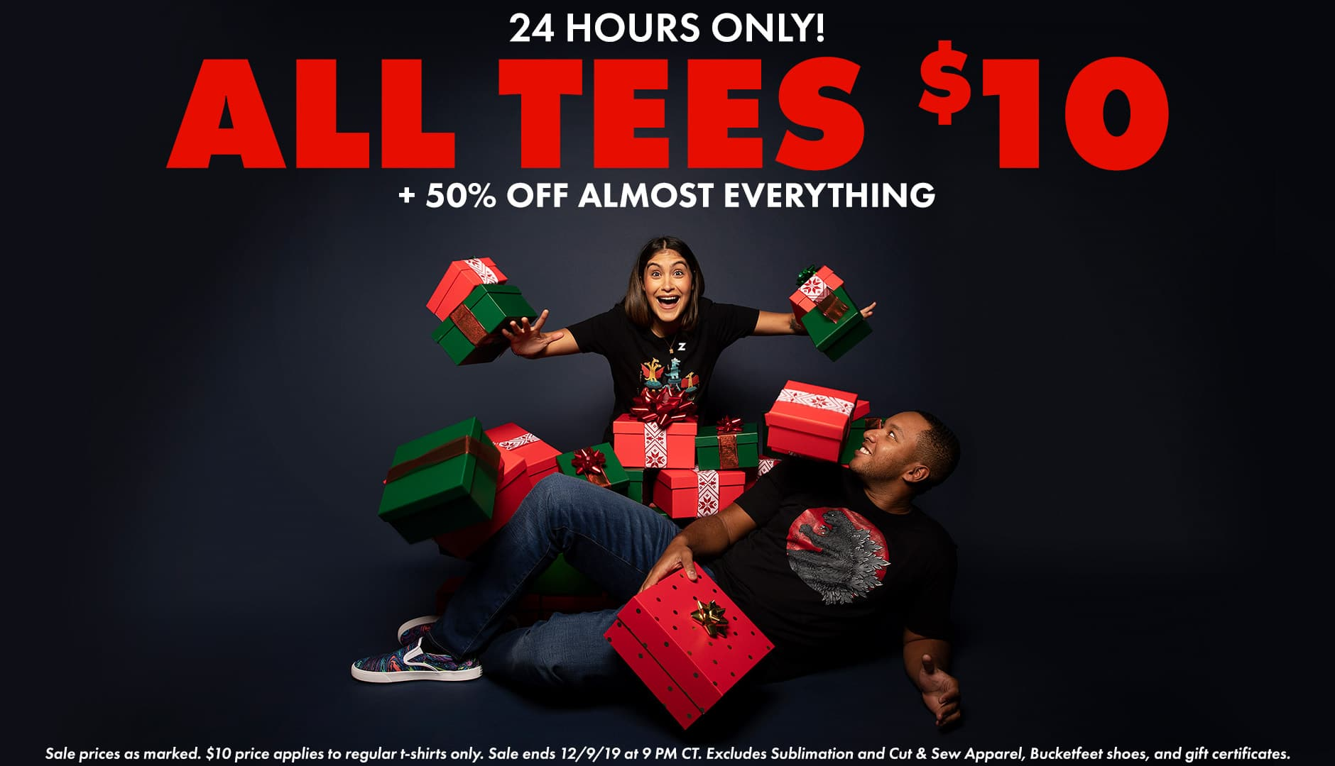 24 Hours Only: Shop $10 Tees!