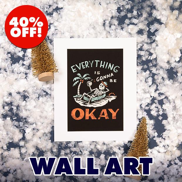 Shop 40% off Wall Art