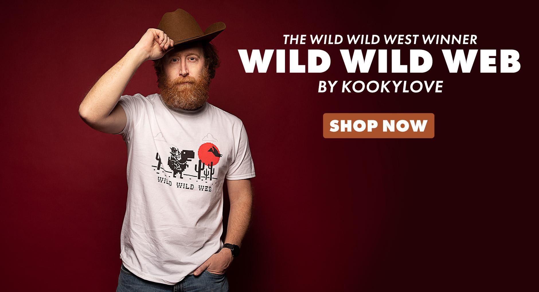 Wild Wild Web Design Challenge Winner
