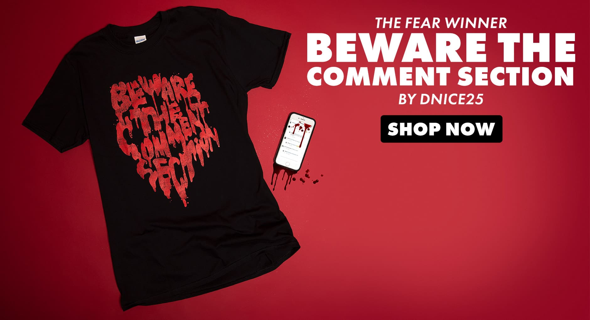 Shop Beware the Comments Section on Threadless