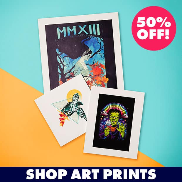 Shop 50% off Art Prints