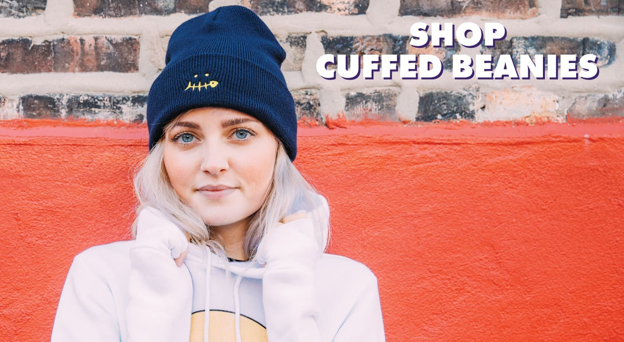 Threadless Headwear - Shop Cuffed Beanies