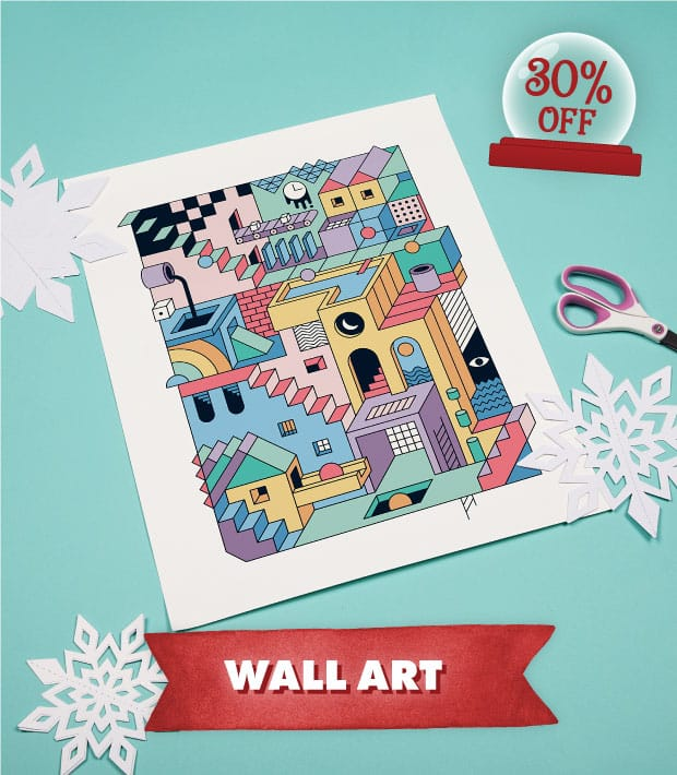 Up to 50% Off Apparel + up to 30% Off Sitewide - Wall Art