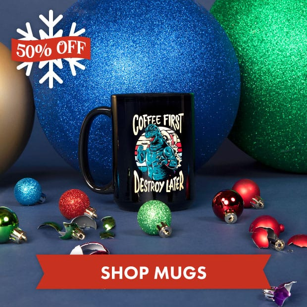 Save big on Mugs with our Black Friday sale at Threadless!