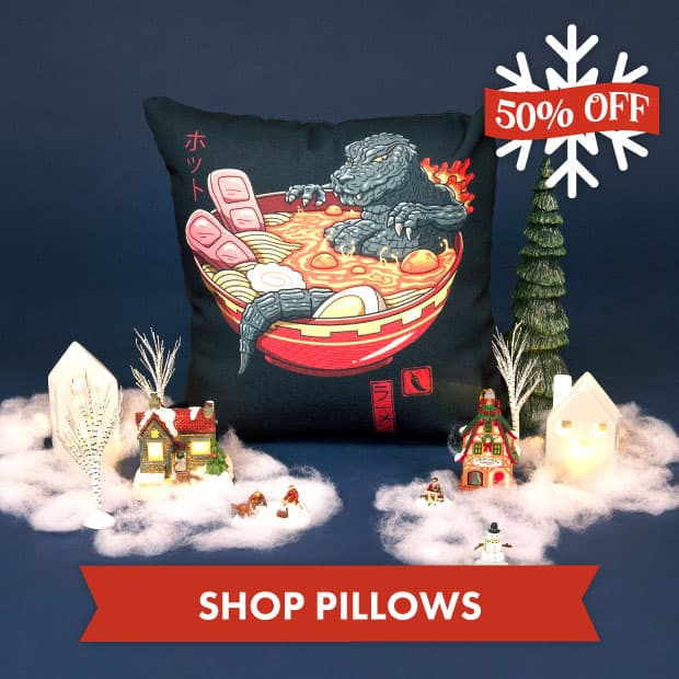 Save big on Pillows with our Black Friday sale at Threadless!
